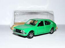 Mebetoys Mattel A57 Alfa Romeo Alfasud 4-Door Bright Green 1/43