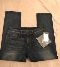 Banana Republic Selvedge Ex Boyfriend Jeans 28X29 New Antwerp Wash