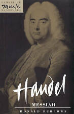 Handel : Messiah by Donald Burrows (Paperback, 1991) Cambridge Music Handbooks
