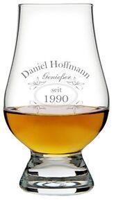 Ein Original The Glencairn Glass, Glas mit Whiskey Design inkl. Wunschgravur