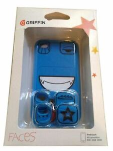 ✅ Ipod Touch 4 Blue Faces Case