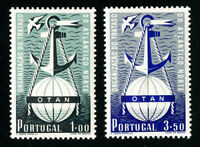 Portugal Stamps # 747-8 VF OG LH Set of 2 Scott Value $200.00