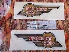 Royal Enfield Bullet 350 cc Tool Box Stickers Genuine # 597115