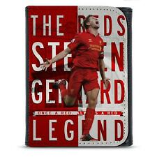 Gerrard Liverpool PU Leather Wallet Football Legend Mens Dad Him Gift LG73