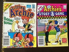 Little Archie Comics Digest 1986 #21 & Archie's Story & Game 1988. #7