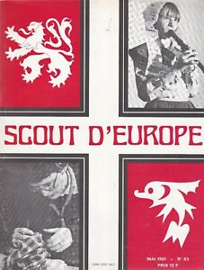 revue scout d'europe  Mai 1981, n°83