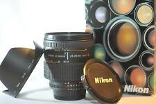 Nikon AF D Zoom Nikkor 24-85mm f/2.8-4 macro FX lens NICE for F100 DF D850 D750