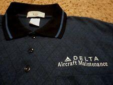 NEW ~ Men's ~ Delta Airlines Aircraft Maintenance ~ Polo Golf Shirt 2XL NWOT