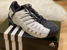Adidas Barricade 2 Tennis Shoe White/Navy/Silver 11.5