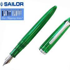 Sailor Fountain Pen Profit Junior Clear Green Body M-F Nib 11-8022-360