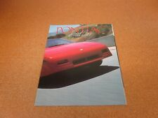 1988 Pontiac Fiero Grand Am Firebird Sunbird Bonneville folder sales brochure