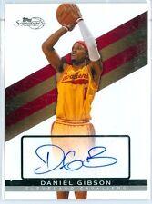 2008-09 TOPPS SIGNATURE ED. (BK) Daniel Gibson SP AUTO CARD (#TSA-DGI) #d /1799