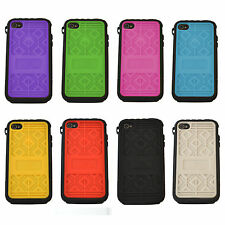 MUSUBO Hard Plastic Case Swappable Back Cover Colour For Apple iPhone 4/4S