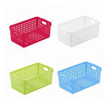 Truyoo Multi Purpose Plastic Handy Fruit Vegetable Basket Kitchen Office Storage