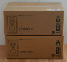 B&W Bowers & Wilkins CWM DS8 In-Wall Speakers Pair New Dipole/Monopole