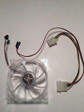 92mm LED Blue FAN Male/Female Molex connector computer cool JST connector 120