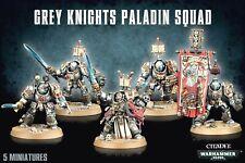 >> Grey Knights Paladin Squad or Terminator Squad Warhammer 40K Nib!