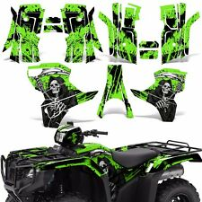 Graphic Kit Honda Foreman 500 ATV Quad Decals Stickers Wrap 2015 2016 REAP GREEN