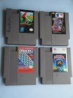 Nintendo Game Lot of  - Jeopardy Junior Edition & 3 Nintendo GamesTested Working