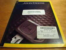 John Deere 610 Series 2 Bar Integral Chisel Plow Operators Owners Book Manual