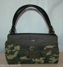 Miche Classic Purse SHELL ONLY Fits Classic Bag STEPHANIE Green Brown Camo