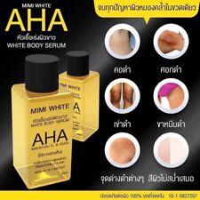 3X MIMI AHA WHITE Whitening Skin Body Serum Lightening Dark Spot 30ML AUTHENTIC