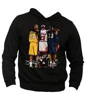 Felpa Campioni NBA Basket Michael Jordan Lebron James Kobe Bryant Lakers Bulls