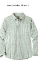 Stio Men's Size Solitude Microcheck Long Sleeve Button Up Nwt
