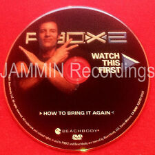 P90X2 - HOW TO BRING IT AGAIN - BRAND NEW - P90X DVD