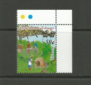 Trinidad and Tobago 2018 Surcharge: 50c on 2003 $2.50 Dirt Oven, MNH