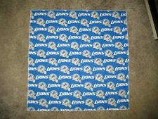 NFL DETROIT LIONS HEAD BANDANA / CHEERING CLOTH - APPROX. 22 1/2""