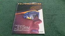 Spring 2001 VOLVO MAGAZINE UK BROCHURE P1800 C70 S80 S60 PERFORMANCE CONCEPT CAR