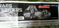 Transformers MOVIE ROBO-VISION VISION OPTIMUS PRIME INSTRUCTION BOOKLET FREE S/H