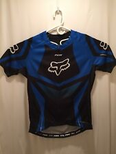 Fox Livewire Blue Black Bike Jersey - M