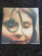 SUPERHEAVEN OURS IS CHROME OXBLOOD /250 copies 1st Press NM + poster