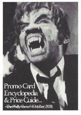 2001 PCE The Philly Show Promo Card Todd Jordan Promo Card Encyclopeia & Guide