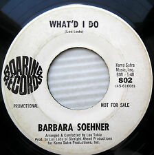Barbara Soehner Teen Pop 45 What'D Oui EVERYTHING'S Yellow Promo e9912