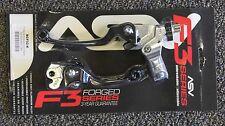 ASV F3 Brake & Clutch Lever Set Black Kawasaki KX65 KX85 KX125 KX250 KX500