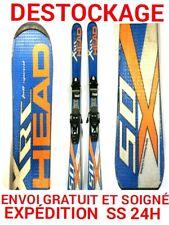 """ski occasion enfant HEAD """"XRC"""" tailles:147cm+ fixations"""