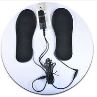 USB Electric Heated Shoe Insoles Warm Sock Feet Heater Foot Winter Warmer Pad