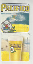 Lot Of 5 Pacifico Claro Beer Coasters= Imported by Gambrinus of Texas-Surfing