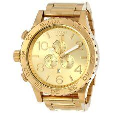 Reloj NIXON A083-502 para hombre Oro Cronógrafo  51-30 caballero A083502