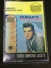 FABIAN'S GREATEST HITS Everest Golden Greats Audio Cassette New In Package