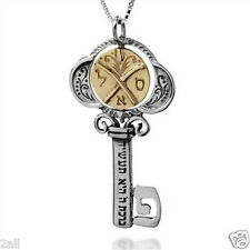 Tikun Klali Key Kabbalah Necklace with a Rotating Coin by HaAri