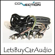 Conexión Audison bt6-550 - 5,5 M Rca coche Amplificador 6 Canales Phono conduce