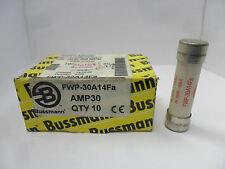 New Lot Bussman FWP-30A14Fa 30 Amp Semiconductor Fuses 700V FWP-30A14F NIB
