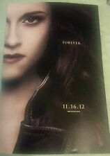Twilight Saga Breaking Dawn Part 2 Bella Swan Forever Poster  SDCC Comic Con