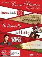 Atonement / Pride and Prejudice / Definitely, Maybe / Love Actually / The Holiday (DVD, 2008, 5-Disc Set)