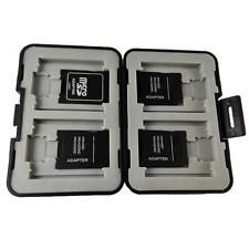 Memory Card 12 in 1 Storage Holder Hard Case Protector Box Micro SD SDHC Card A2