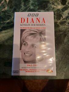 DIANA - Königin der Herzen - VHS  BBC Video, unbenutzt
